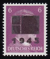 Netzschkau-Reichenbach 5bIIa Freimarke 6 Pf Mit Schwärzung Typ IIa, ** - Allemagne