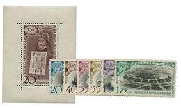 Roumanie : BF N°45** + 1637/16242** - Romania