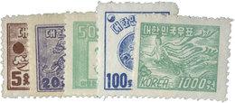 Corée Du Sud : N°70/74** - Corée Du Sud