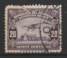 MiNr. 285 Ecuador / 1929, 5. Mai. Freimarken: Flugzeug über Strandpromenade Von Guayaquil. StTdr.; Gez. L 12. - Ecuador