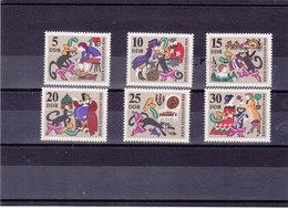 RDA 1968 LE CHAT BOTTE Yvert 1122-1127 NEUF** MNH - [6] République Démocratique