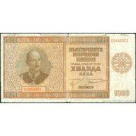 TWN - BULGARIA 61a - 1000 1.000 Leva 1942 C 0455501 G+ - Bulgaria