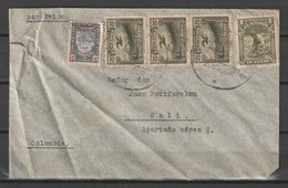 MiNr. 385 Ecuador / 1937, 19. Aug./1947, 7. Okt. Freimarken: Kondor. StTdr.; Gez. L 12. - Ecuador