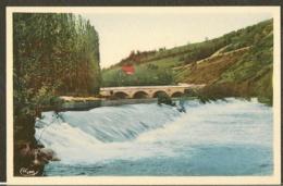 CP-48-MALZIEU-VILLE- La Truyère Et Le Pont De St-chély - Autres Communes