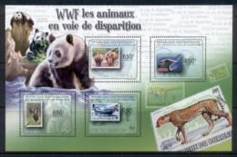 Central African Republic 2011 Endangered Wildlife MS MUH - Central African Republic
