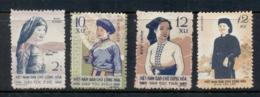 North Vietnam 1960 Ethnic Costumes - Vietnam