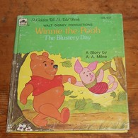 Winnie The Pooh. The Blustery Day. 1956. - Children's