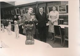 BALEGEM   FOTO 1973  -  17 X 13 CM -   ACHIEL GEERTS SCHILDER EN BEELDHOUWER TENTOONSTELLING - Oosterzele