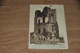 6007- LES RUINES DE L'ABBAYE D'AULNE, LA TOUR - Religions & Croyances