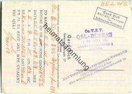QSL - QTH - Funkkarte - Gerd Eich Uetersen - 1958 - Dr. Oetker - Amateurfunk