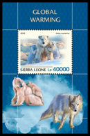 SIERRA LEONE 2018 **MNH Global Warming Erderwärmung Réchauffement Climatique S/S - IMPERFORATED - DH1844 - Environment & Climate Protection