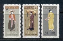 Vietnam 1960 Rthnic Costumes (3/4, No 10xu) MUH - Vietnam