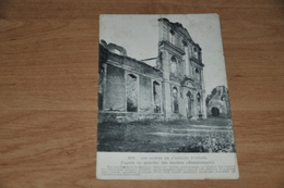6011-  LES RUINES DE L'ABBAYE D'AULNE, FACADE DU QUARTIER DES ANCIENS - Religions & Croyances