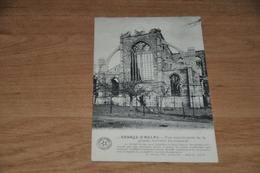 6012-   ABBAYE D'AULNE, VUE MERIDIONALE DE LA GRANDE VERRIERE DU TRANSEPT - 1912 - Religions & Croyances