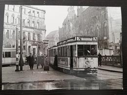 Berlin-Mitte, Spittelmarkt, Strassenbahn, 1946 - Mitte