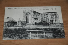 6018-   ABBAYE D'AULNE, TRANCEPT ET CHOEUR - 1908 - Religions & Croyances