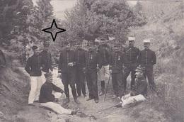 Carte Photo D'un Groupe D'Officiers Du 3ème Régiment D'Infanterie à Situer. - France