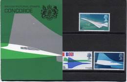 GREAT BRITAIN 1969 First Flight Of Concorde Presentation Pack - Presentation Packs