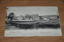 6019-   ABBAYE D'AULNE, LA SAMBRE ET LES RUINES - 1901 - Religions & Croyances