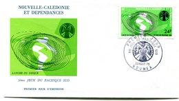 Nouvelle Calédonie - Yvert PA 167 - Jeux Du Pacifique - R 5569 - FDC