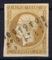 France: Yv  18 Brun Est Ne Pas Rouge FAUX Obl./Gestempelt/used - 1852 Louis-Napoléon