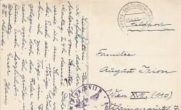 Feldpost Vom Stralag XVII B - Poststempel Krems-Gneixendorf Lager Auf Oster-AK, 1941 - 1918-1945 1. Republik