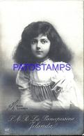 103159 ROYALTY PRINCESS YOLANDA OF ITALY POSTAL POSTCARD - Royal Families