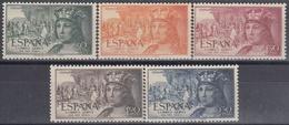 ESPAÑA 1952 Nº 1111/15 NUEVO PERFECTO - 1931-Hoy: 2ª República - ... Juan Carlos I