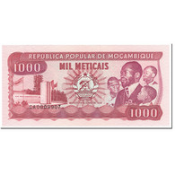 Billet, Mozambique, 1000 Meticais, 1989, 1989-06-16, KM:132c, NEUF - Mozambique