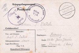 Prisonnier De Guerre OFLAG V A - Marcophilie (Lettres)