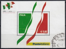 ITALIA 2011 Nº HB-55 USADO - 6. 1946-.. Repubblica