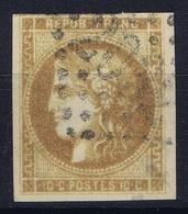 France: Yv 43 A Obl./Gestempelt/used - 1870 Ausgabe Bordeaux