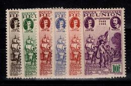 Reunion - YV 180 à 185 N** Tricentenaire Complete - Réunion (1852-1975)
