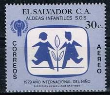 El Salvador 1979, Michel # 1302 ** International Year Of The Child: Emblem SOS Children Villages - El Salvador