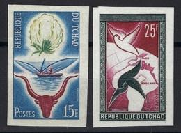 République Du Tchad, Non Dentelé, N° 60 Et 61 ** TB - Tsjaad (1960-...)