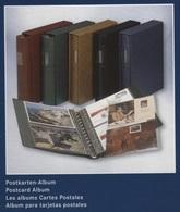 Album Pour Cartes Postales Lindner Noir Réf. 1131 S Avec 10 Feuilles Neuf à - 50% - Matériel