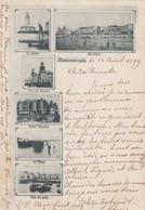BLANKENBERGE /  VOORLOPER / PRECURSEUR 1899 / MEERZICHTENKAART / ZELDZAAM - Blankenberge