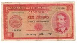 Cape Verde 100 Escudos 1958 - Cap Vert