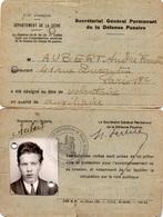 Vends Lot : Thème : Défense Passive Guerre 1939 -1945 WWII 15 Documents - 1939-45