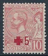 Monaco 1914  Nobel Red Cross Croix Rouge  MNH - Nobel Prize Laureates