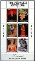 Turkmenistan 1997   Nobel Red Cross Croix Rouge Princesse Diana  MNH - Nobel Prize Laureates