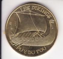 Jeton Médaille Monnaie De Paris MDp Les Vikings Puy Du Fou 2018 - 2018