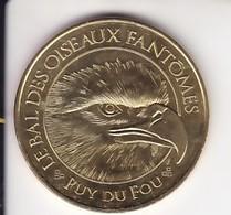 Jeton Médaille Monnaie De Paris MDp Le Bal Des Oiseaux Fantômes Puy Du Fou 2018 - 2018