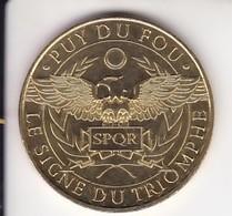 Jeton Médaille Monnaie De Paris MDp Le Signe Du Triomphe Puy Du Fou 2018 - 2018