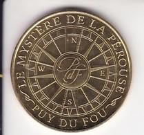 Jeton Médaille Monnaie De Paris MDp Le Mystère De La Pérouse Puy Du Fou 2018 - 2018