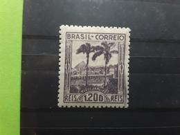 BRASIL / BRAZIL / BRESIL 1939 , Vue De Rio De Janeiro  Yvert 347 , 1200 R Violet Neuf */ MH, Quasi ** TB - Brazil