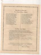 PLUSIEURS TEXTE  POUR BIDASSES / SOLDATS  / 711 EME CME / RETOUR D'ALGERIE    B612 - Documents