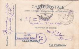 Prisoner Of War To Belgian POW In Germany, Kriegsgefangenenlager Soltau, Hannover Posted 12.4.1916 - Militaria