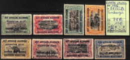 [825167]Ruanda-Urundi 1916 - N° 28/35B, Surchargés - 1924-44: Mint/hinged