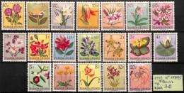 [825210]Ruanda-Urundi 1953 - N° 177/95,  Fleurs, Végétaux - Ruanda-Urundi